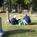 Volunteers Clean Up Cemetery photo album thumbnail 12