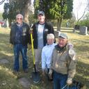 Volunteers Clean Up Cemetery photo album thumbnail 3